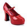 MARYJANE-50 Red Patent